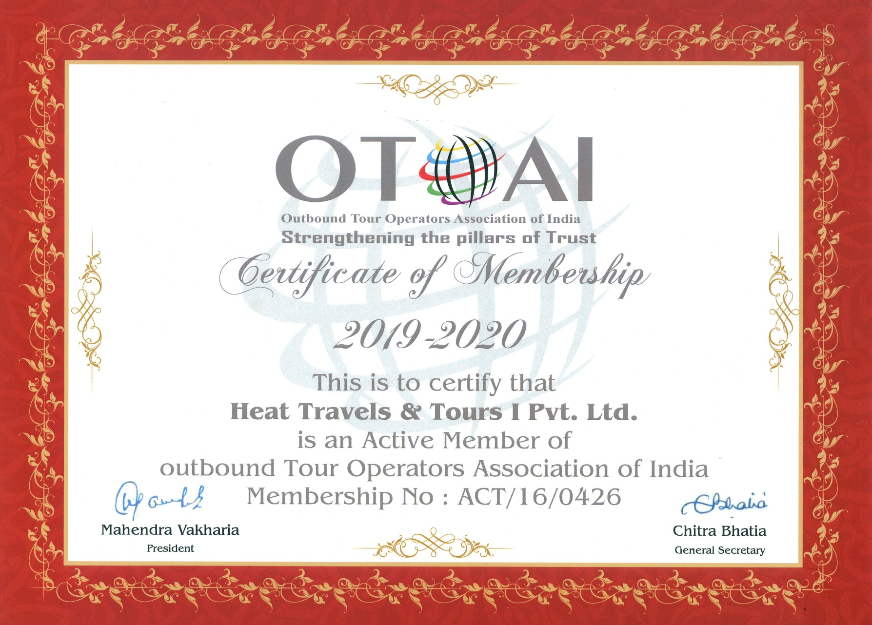 HEAT Travels & Tours (INDIA) Private Limited :: Home